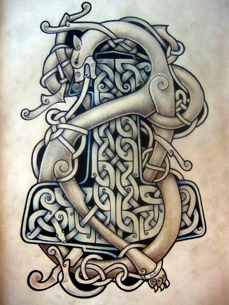 татуировки кельтский рисунок